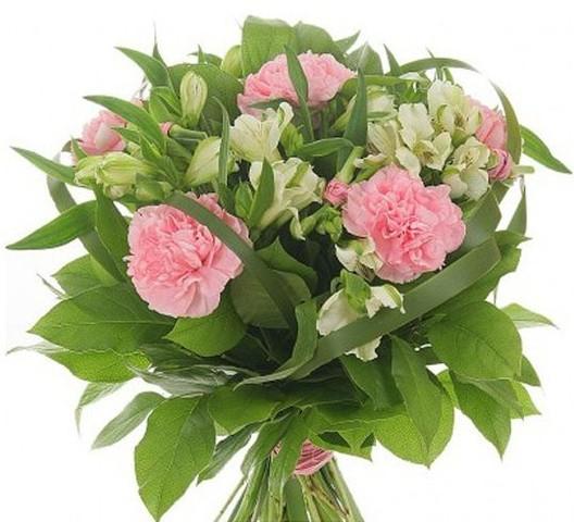 Букеты за 1500 рублей из цветов #4